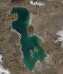 Lac d'Orumieh. © NASA