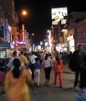 Rue commerçante, Bangalore, Asie