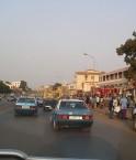 Centre de la capitale de la Guinée-Bissau