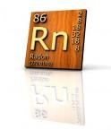 Le radon selon le tableau périodique des éléments © Fabrizio Zanier