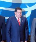 Hugo Chavez à un sommet de l'UNASUR. Photo Marcello Casal JR.