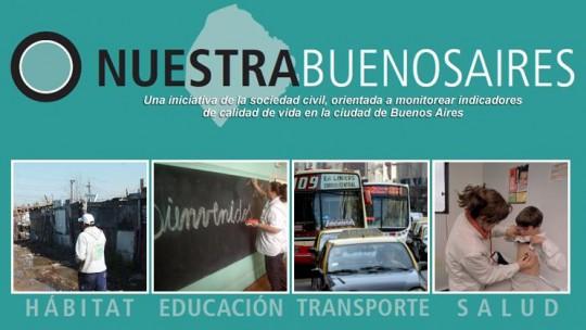 Page d'accueil de Nuestra Buenos Aires