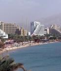 Plage du nord d'Eilat