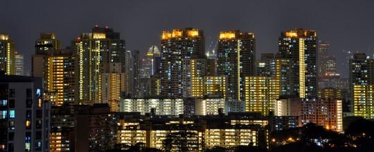 Skyline de Singapour