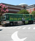 Le Big Green Bus à Chapel Hill, NC