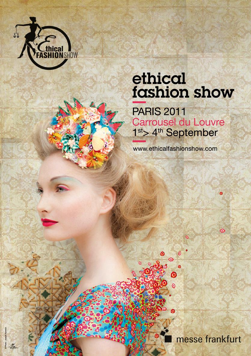 Affiche Ethical Fashion Show.