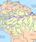 Fleuves d'Amérique du sud. © Kmusser