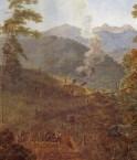 Peinture de Félix-Emile Taunay.