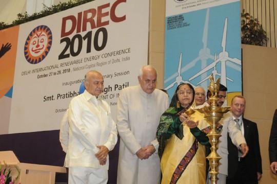 Conférence ENR 2010 New Delhi.