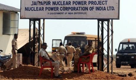 Site de la future centrale nucléaire de Jaitapur.