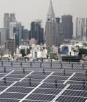 """Toit """"solaire"""" à Tokyo. © Tomohiro Ohsumi (Bloomberg/Getty Images)"""