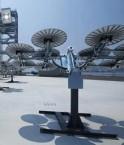 Nouveau système photovoltaïque japonais. © JFE Engineering Corporation