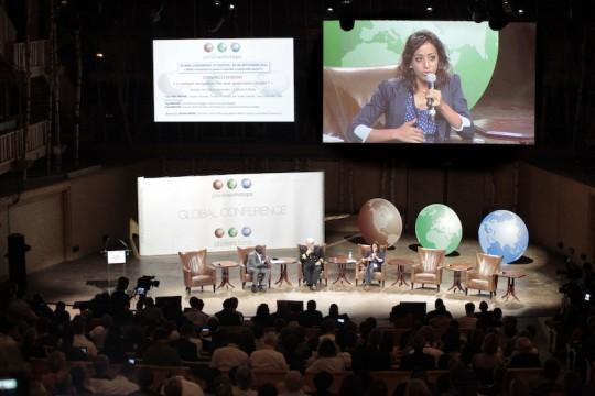 Gigi Ibrahim à la Global Conference 2011.