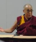 Le dalaï-lama au Canada. © Christine Lacaze