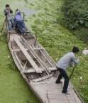 Pollution des eaux à Haining. © Simon Lim (AFP/Getty Images)