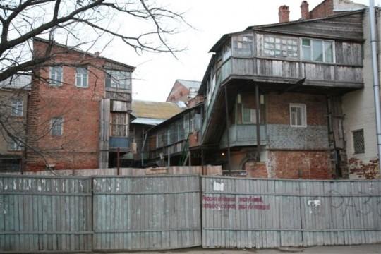 Habitation d'Astrakhan.