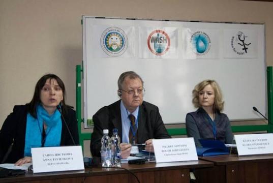 Ateliers sur l'eau potable à Kiev.