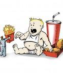 Illustration sur l'obésité. © Joe_13 (Flickr.com)