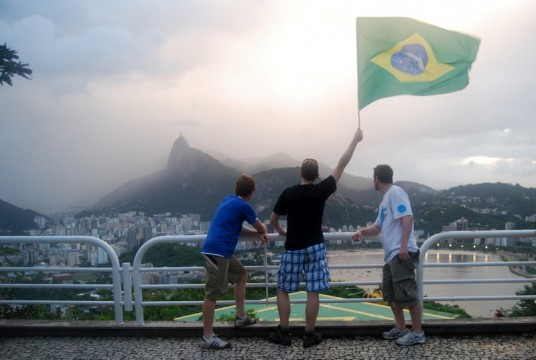 Air pollué au Brésil.