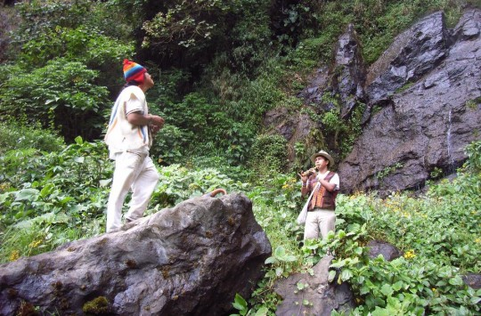 Indigènes colombiens.