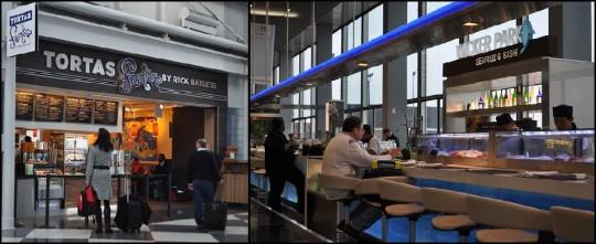 Restaurants de l'aéroport O'hare.
