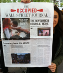 The Occupied Wall Street Journal. © Hrag Vartanian (Hyperallergic LABS)