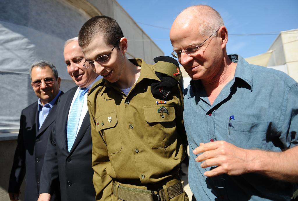 Libération de Gilad Shalit.