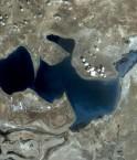 Mer d'Aral du Nord. © Google
