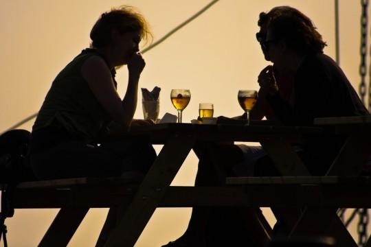 Femmes et bière.