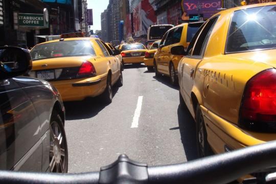 Tour de vélo à NYC.