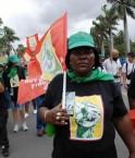Manifestation COP17 à Durban. © Langelle (GJEP)