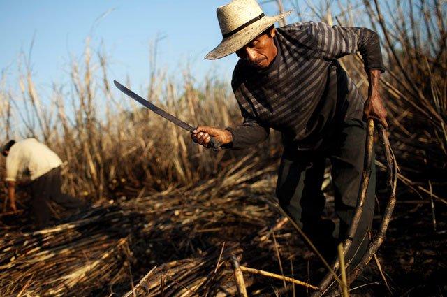 Agriculteur salvadorien.