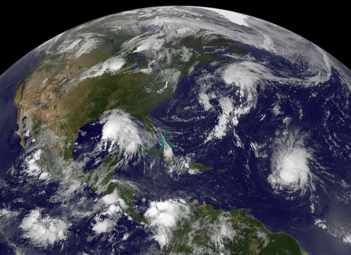 Dépressions tropicales.