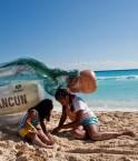 Enfants à Cancún. © Oxfam