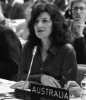 Louise Hand, ambassadrice australienne (COP 17).