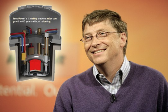 Bill Gates et Terrapower.