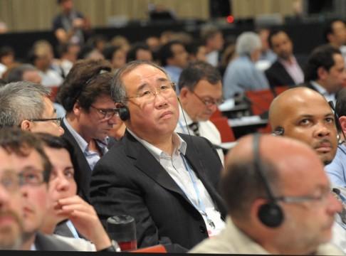 Xie Zhenhua à la COP17.