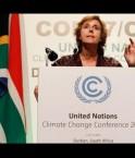 Connie Hedegaard, négociatrice de l'UE. © Nic Bothma (EPA)