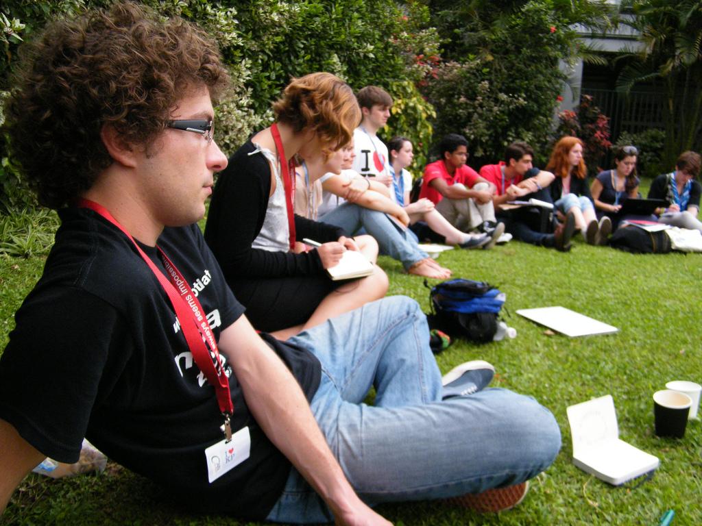 Rencontres de la jeunesse à la COP17.