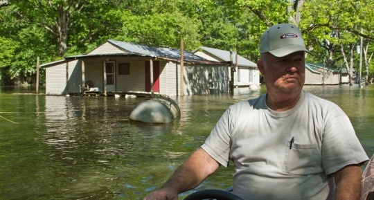 Inondation dans le Tennessee.