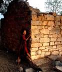 Une petite fille Dalit. © Gamdrup