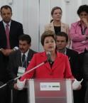 Dilma Roussef lors de l'inauguration de Rio+20. © mctibrasil