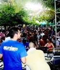 Honduras - Sunjam Festival, une fete electro sur une ile deserte