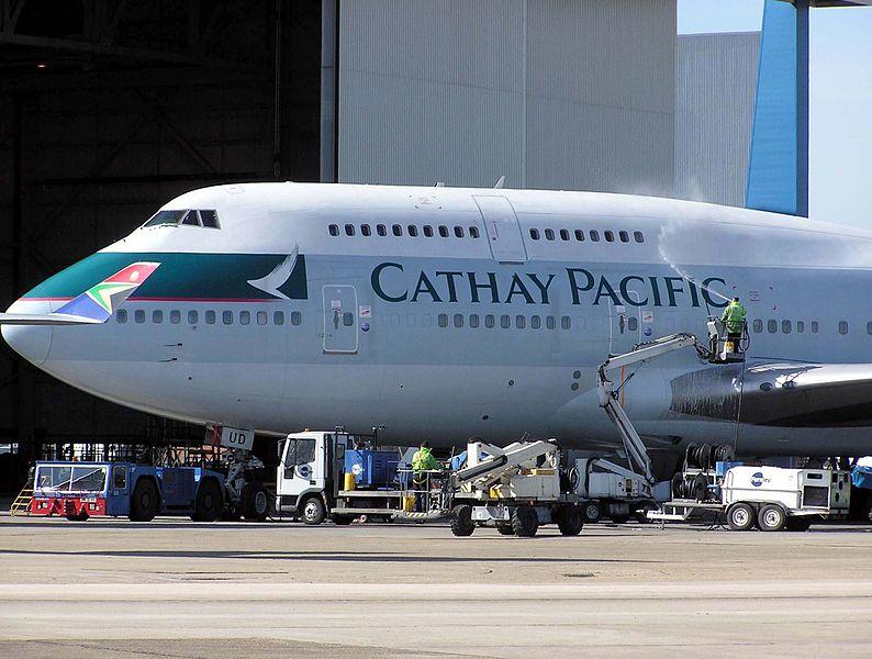 Boing 747-400 de la Cathay Pacific