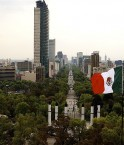Ville de Mexico, avenue de la Reforma