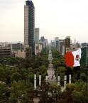 Ville de Mexico, avenue de la Reforma