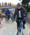 ministro patiño trabajo en bici 1 ©Eduardo Flores / Andes