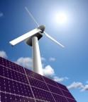Système hybride éolienne et solaire