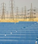 Un réseau d'installations solaires, thermiques et photovoltaïques devrait être installé dans le désert du Maghreb.  (Credit: Green Prophet1/CC-BY-2.0