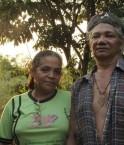 Maria do Espirito Santo et son mari Jose Claudio Ribeiro da Silva ©AFP